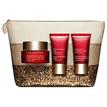 Buy Clarins Super Restorative Skincare Gift Set Online at johnlewis.com