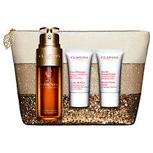 Buy Clarins Anti-Ageing Double Serum Skincare Gift Set Online at johnlewis.com