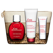 Buy Clarins Eau Dynamisante 100ml Eau de Toilette Fragrance Gift Set Online at johnlewis.com