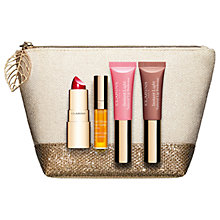 Buy Clarins Precious Lip Collection Makeup Gift Set Online at johnlewis.com