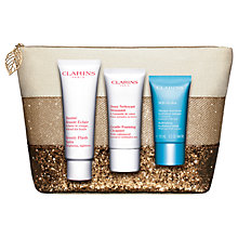 Buy Clarins Beauty SOS Skincare Gift Set Online at johnlewis.com