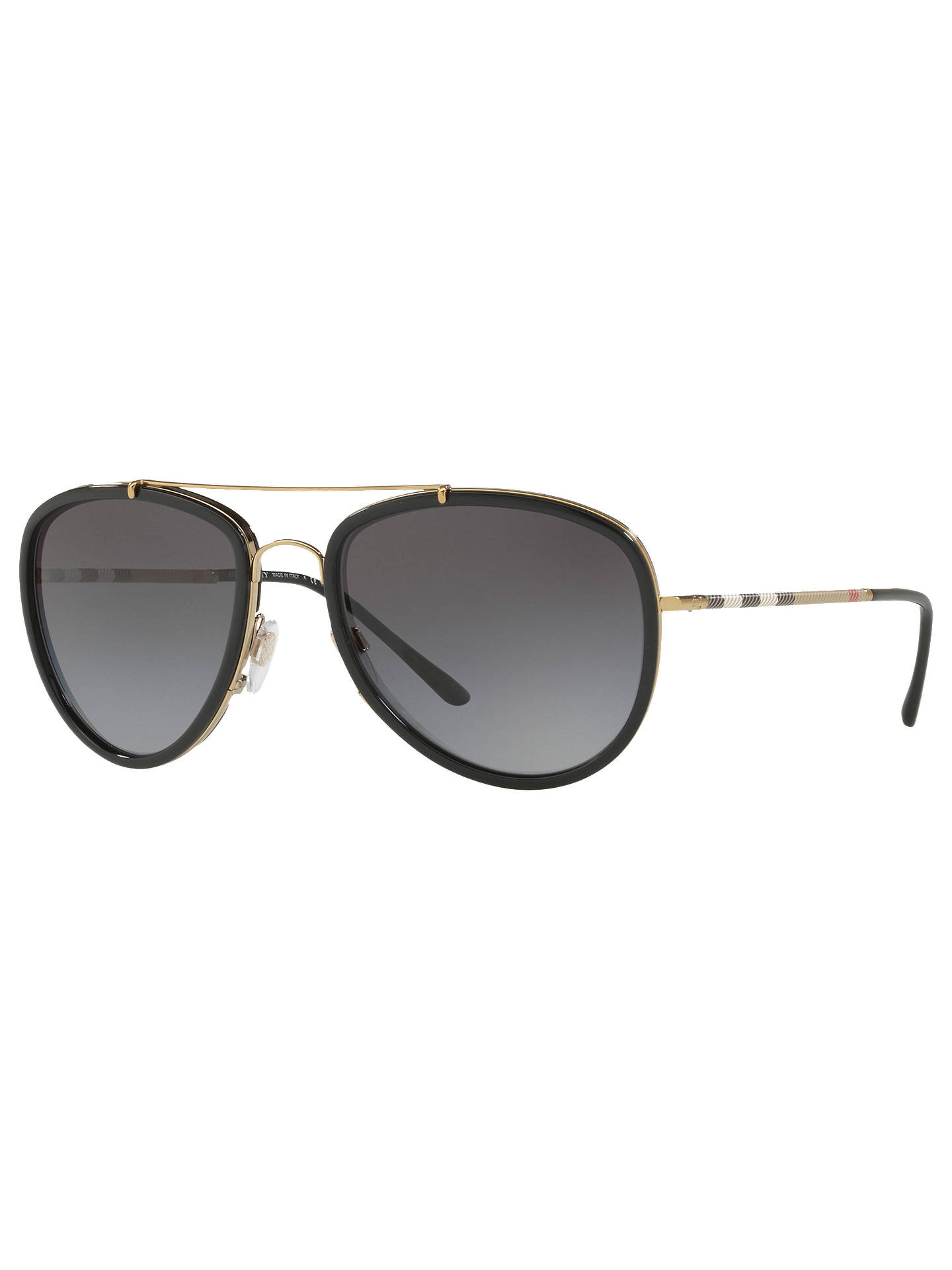 0e7919fca2c BuyBurberry BE3090 Polarised Aviator Sunglasses
