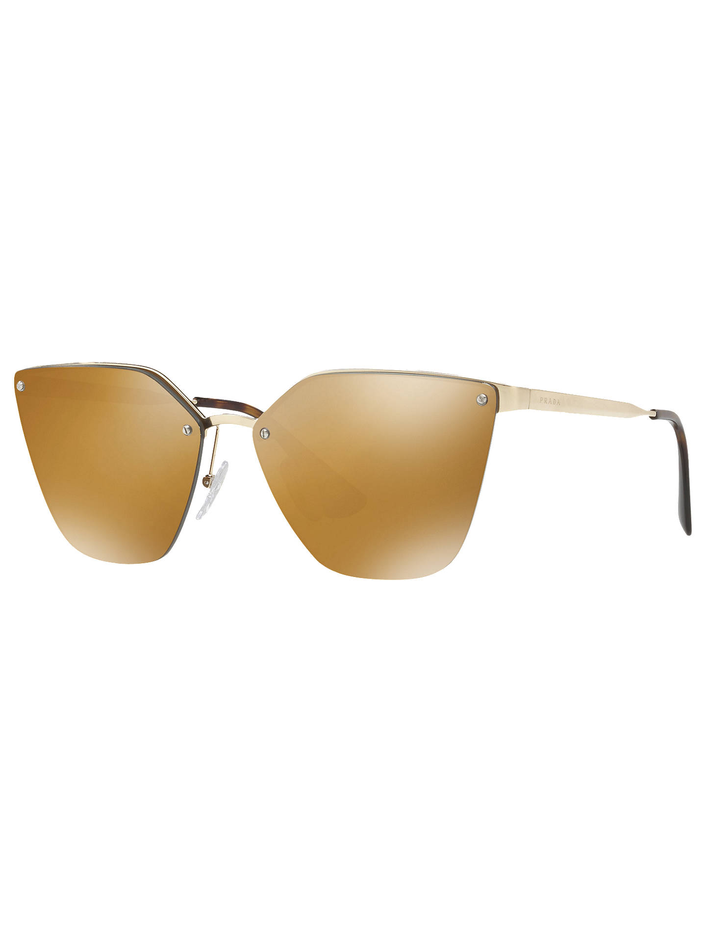 1d3c206d5f1b0 Prada PR 68TS Polarised Cat s Eye Sunglasses at John Lewis   Partners