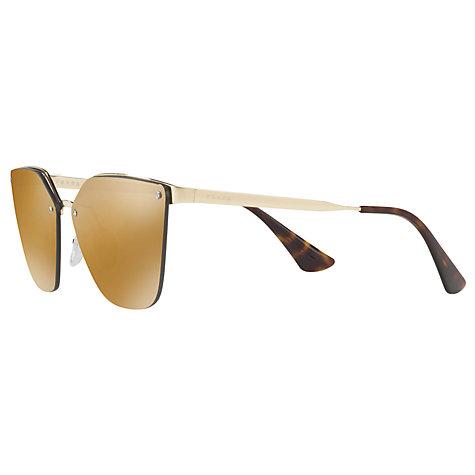 d58b58dfdf56a switzerland prada silver gradient sunglasses pr 51us 1bc096 62 a910f 9a743   spain buy prada pr 68ts polarised cats eye sunglasses online at johnlewis.