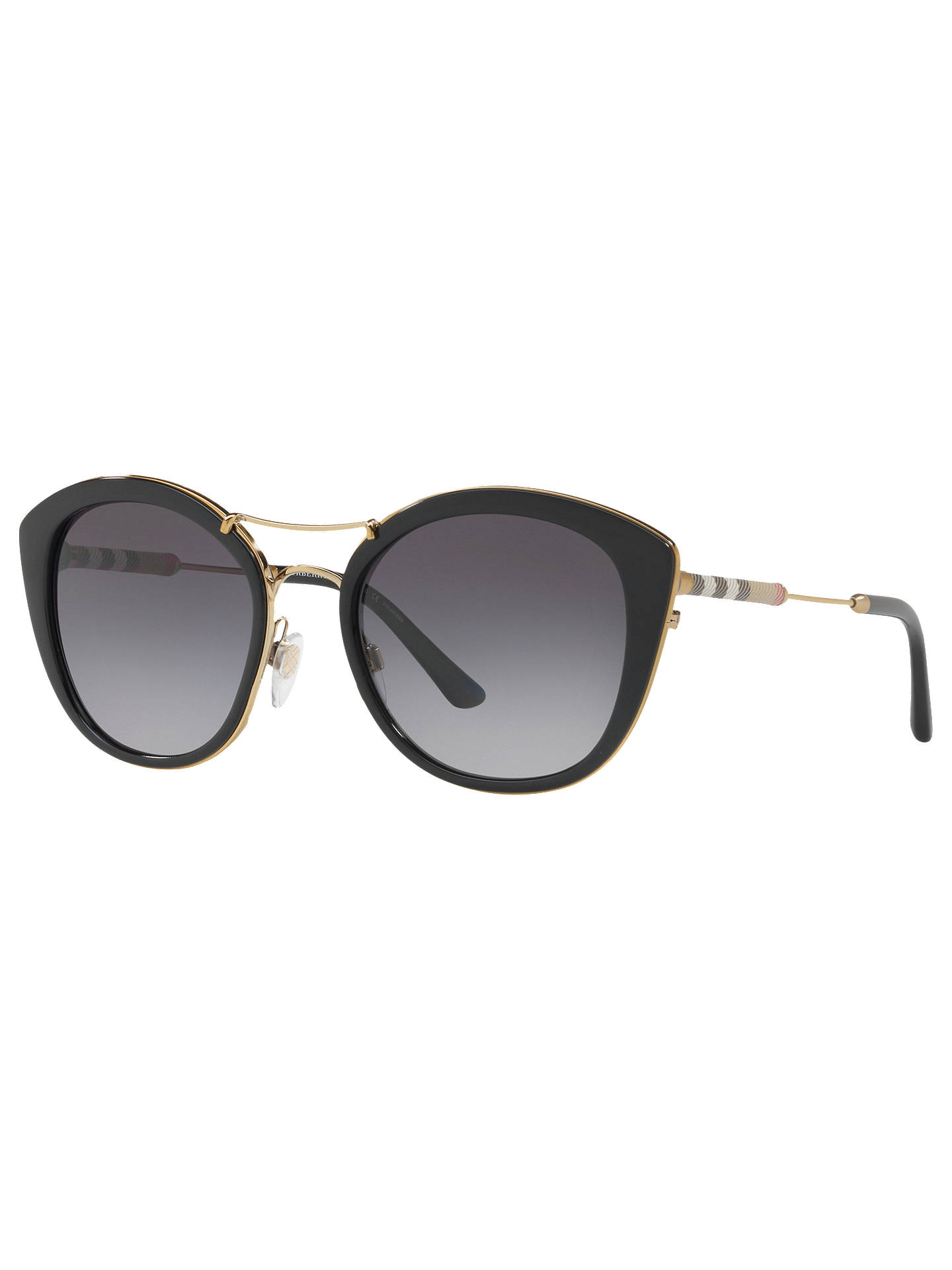 adfab1aaa2 Burberry BE4251Q Round Sunglasses at John Lewis   Partners