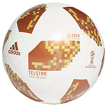 Buy adidas FIFA World Cup Glider Football, White Online at johnlewis.com