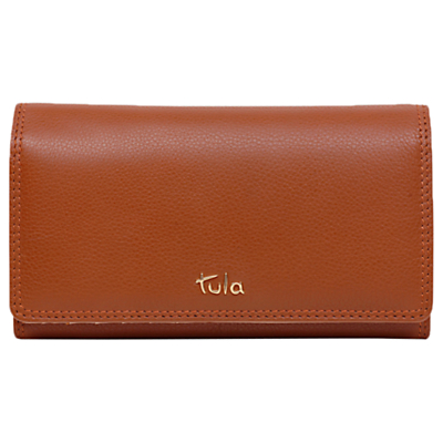Tula Originals Leather Large Flapover Purse