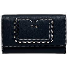 Buy Tula Mallory Leather Large Flapover Matinee Purse Online at johnlewis.com