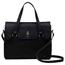 Buy Tula Originals Leather Medium Grab Flapover Bag Online at johnlewis.com