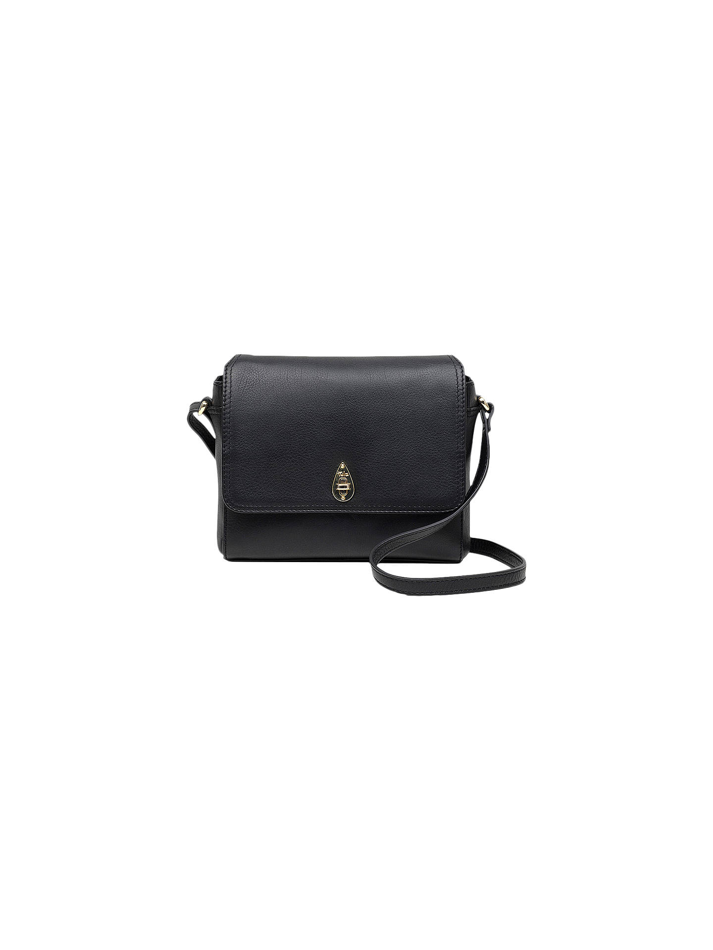 34b159fec933 Tula Originals Leather Small Flapover Cross Body Bag at John Lewis ...
