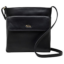 Buy Tula Nappa Originals Pebble Leather Medium Zip Top Cross Body Bag Online at johnlewis.com