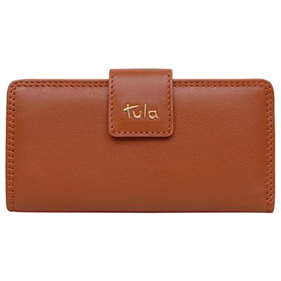 Tula Originals Leather Large Clip Frame Purse