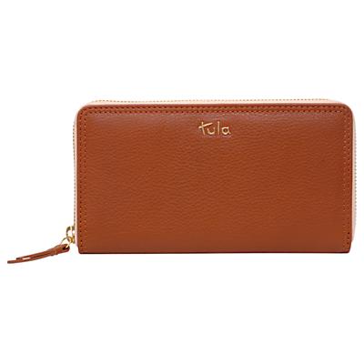 Tula Nappa Originals Leather Large Zip Around Purse