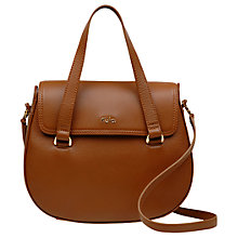 Buy Tula Originals Leather Medium Flapover Grab Bag Online at johnlewis.com