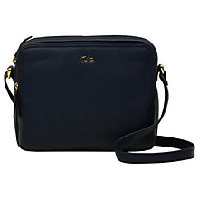 Buy Tula Nappa Original Pebble Leather Medium Cross Body Bag Online at johnlewis.com