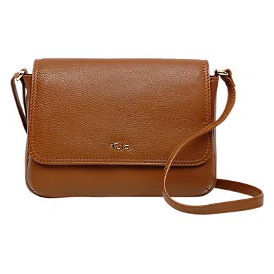 Tula Nappa Originals Leather Small Flapover Cross Body Bag