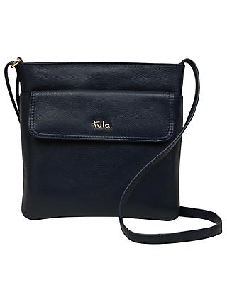 Tula Na Originals Leather Medium Cross Body Bag