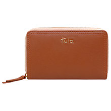 Buy Tula Nappa Originals Leather Medium Zip Around Purse Online at johnlewis.com
