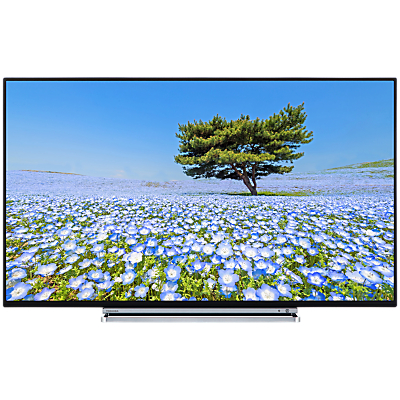 Toshiba 43U6763DB LED 4K Ultra HD Smart TV, 43 with Built-In Wi-Fi, Freeview HD & Freeview Play, Black