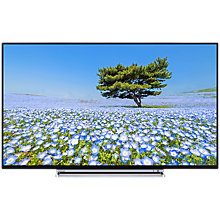 "Buy Toshiba 43U6763DB LED 4K Ultra HD Smart TV, 43"" with Built-In Wi-Fi, Freeview HD & Freeview Play, Black Online at johnlewis.com"
