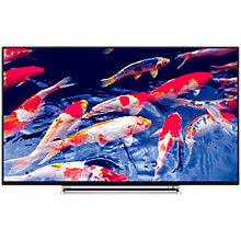 "Buy Toshiba 49U6763DB LED 4K Ultra HD Smart TV, 49"" with Built-In Wi-Fi, Freeview HD & Freeview Play, Black Online at johnlewis.com"