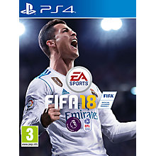Buy FIFA 18, PS4 Online at johnlewis.com