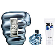 Buy Diesel Only The Brave 50ml Eau de Toilette Fragrance Gift Set Online at johnlewis.com