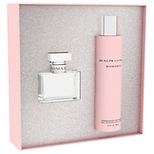 Buy Ralph Lauren Romance 50ml Eau de Toilette Fragrance Gift Set Online at johnlewis.com