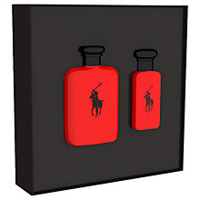 Buy Ralph Lauren Polo Red 75ml Eau de Toilette Fragrance Gift Set Online at johnlewis.com