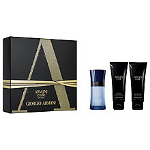 Buy Giorgio Armani Code Colonia 50ml Eau de Toilette Fragrance Gift Set Online at johnlewis.com