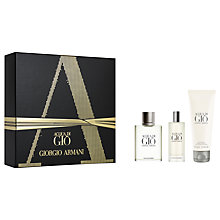 Buy Giorgio Armani Acqua Di Gio 50ml Eau de Toilette Fragrance Gift Set Online at johnlewis.com