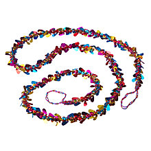 Buy John Lewis Tales of the Maharaja Sequin Beaded Garland Online at johnlewis.com