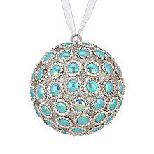 Buy John Lewis Winter Palace Iridescent Spot Bauble Online at johnlewis.com
