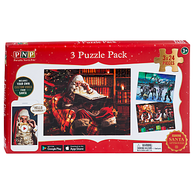 Image of Portable North Pole Santa's Village Puzzle Pack