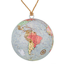 Buy John Lewis Lima Llama Globe Bauble Online at johnlewis.com