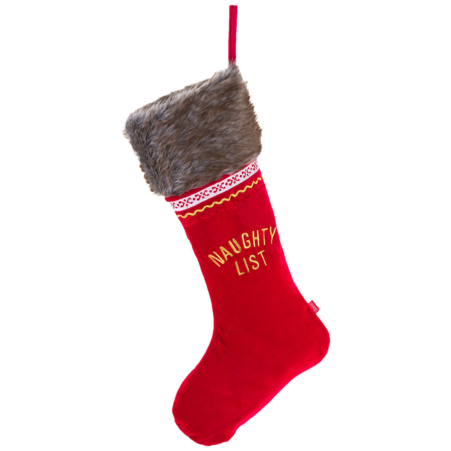Buyportable North Pole Double Sided Deluxe Christmas Stocking, Red Online