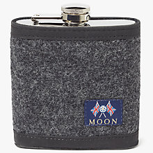 Buy John Lewis Moon Wool Hip Flask, Grey Online at johnlewis.com