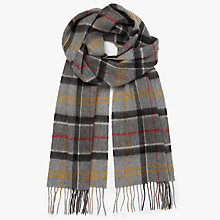 Buy Barbour Merino Cashmere Tartan Scarf Online at johnlewis.com