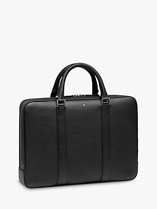 Montblanc Soft Grain Leather Slim Document Case, Black