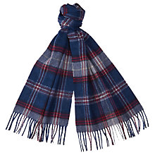 Buy Barbour Whimbrel Check Scarf Online at johnlewis.com