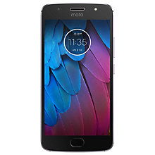 "Buy Moto G5S Smartphone, Android, 5.2"", 4G LTE, Exclusive Dual SIM, SIM Free, 32GB Online at johnlewis.com"