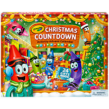 Buy Crayola Christmas Countdown Activity Advent Calendar Online at johnlewis.com