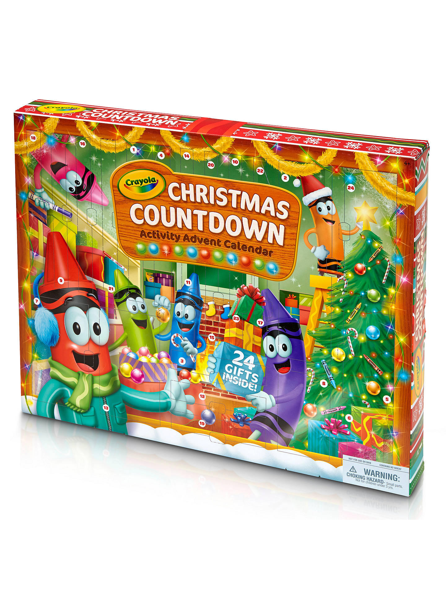 Crayola Christmas Countdown Activity Advent Calendar at ...