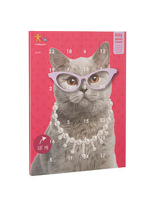 Buy Fred & Ginger Cat Advent Calendar, Pink Online at johnlewis.com