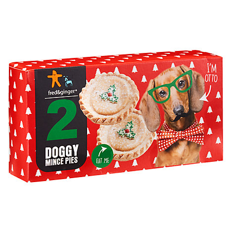 Buy Fred & Ginger Dog Friendly Mince Pie Treats Online at johnlewis.com