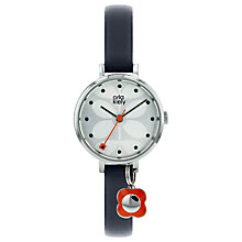 Buy Orla Kiely Women's Ivy Leather Strap Watch Online at johnlewis.com