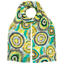 Buy East Urchin Printed Silk Scarf, Multi Online at johnlewis.com