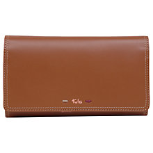 Buy Tula Violet Large Leather Flapover Purse Online at johnlewis.com