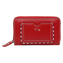 Buy Tula Mallory Leather Medium Zip Wallet Online at johnlewis.com