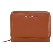 Buy Tula Violet Leather Small Zip Around Wallet Purse Online at johnlewis.com